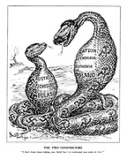 "The Two Constrictors. ""I don't know about helping you, Adolf, but I do understand your point of view."""