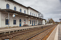 Eutin Train Station.