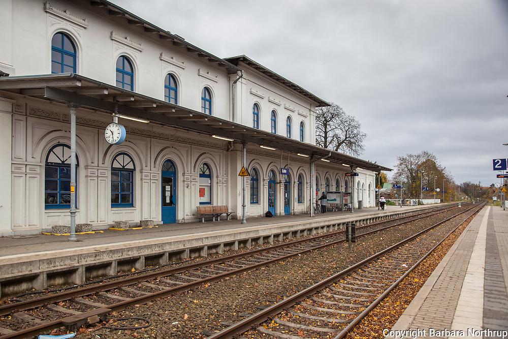 Eutin Train Station.