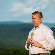 Prince William County Supervisor, Corey Stewart made a brief speech during an appearance at the Page County , VA GOP Jamboree, in Luray, VA on Saturday, June 25, 2016.  Stewart ran the Trump operation in Virginia and is running for Governor in 2017.    John Boal Photography