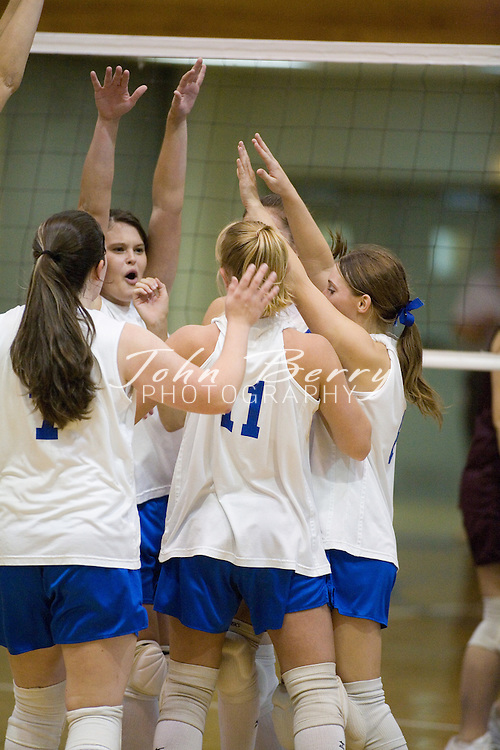MCHS Varsity Volleyball .vs Luray .September 14, 2006