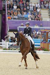 Kanerva, Emma, Spirit<br /> London - Olympische Spiele 2012<br /> <br /> Grand Prix Special, Teamwertung<br /> © www.sportfotos-lafrentz.de/Stefan Lafrentz