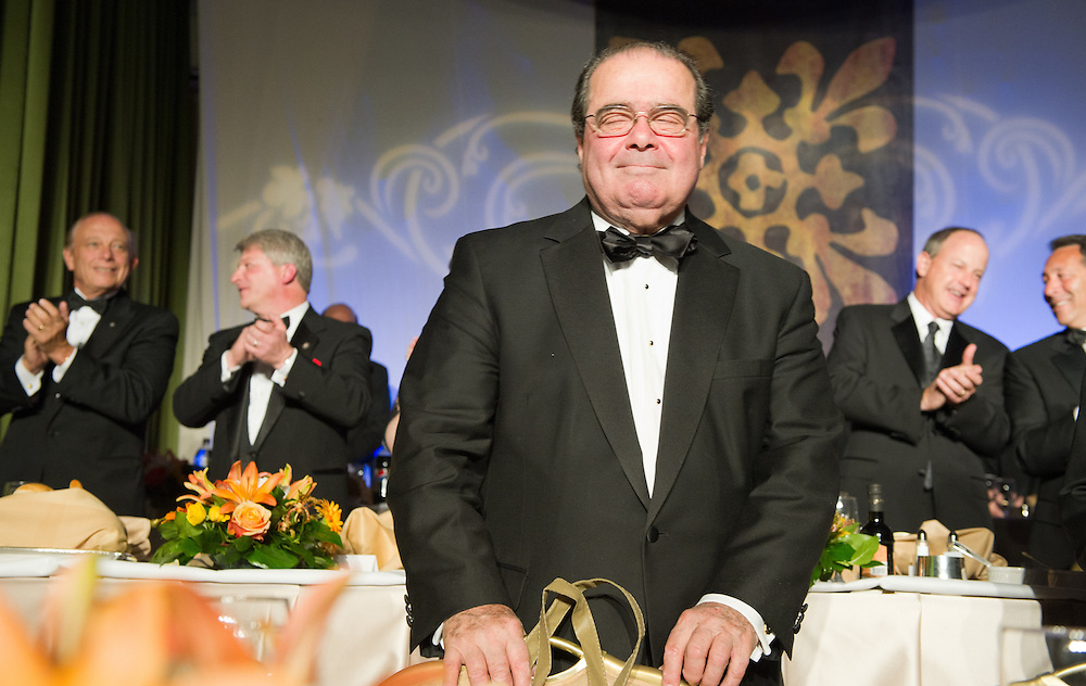 Justice Antonin Scalia honored at National Italian American Foundation event in Washington DC