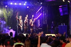 Banda Dublê no espaço Camarotes do Planeta Atlântida 2013/RS, que acontece nos dias 15 e 16 de fevereiro na SABA, em Atlântida. FOTO: Itamar Aguiar/Preview.com