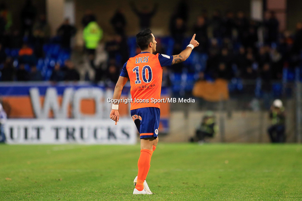 joie Lucas BARRIOS  - 24.01.2015 - Montpellier / Nantes  - 22eme journee de Ligue1<br />