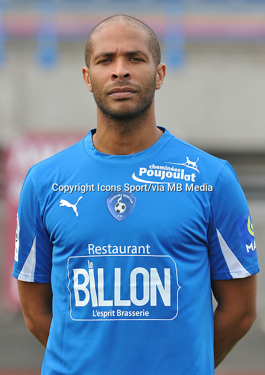 Erci Sekou CHELLE - 26.10.2013 - Photo Officielle - Niort -<br /> Photo : Icon Sport