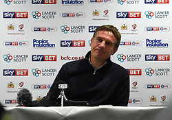 Bolton Wanderers manager Phil Parkinson talks to the press after two nil defeat at the hands of Bristol City - Mandatory by-line: Paul Knight/JMP - 26/09/2017 - FOOTBALL - Ashton Gate Stadium - Bristol, England - Bristol City v Bolton Wanderers - Sky Bet Championship