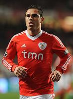 20120114: LISBON, PORTUGAL – Liga Zon Sagres 2011/2012: SL Benfica vs V. Setubal. In picture: Bruno Cesar (Benfica).<br />PHOTO: Alvaro Isidoro/CITYFILES