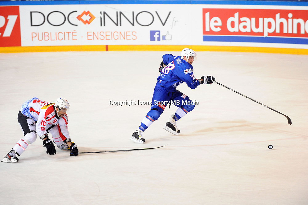Yohann AUVITU - 24.04.2015 - France / Suisse - Match Amical -Grenoble<br />Photo : Jean Paul Thomas / Icon Sport
