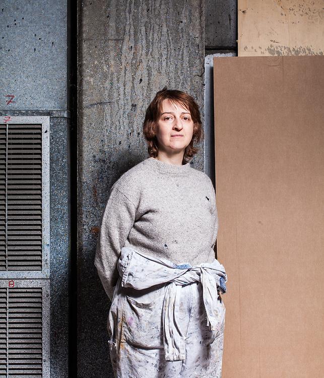 Stefania Di Dio, Viceresponsabile scenografia. Laboratorio di scenografia del tetro regio di Torino, Settimo Torinese (TO).