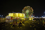 Ferris wheel after Weezer's performance at The Bamboozle in East Rutherford, New Jersey. May 2, 2010. Copyright © 2010 Matt Eisman. All Rights Reserved.