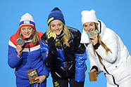 Woman's Sprint Classic cross country skiing event - 14 February 2018