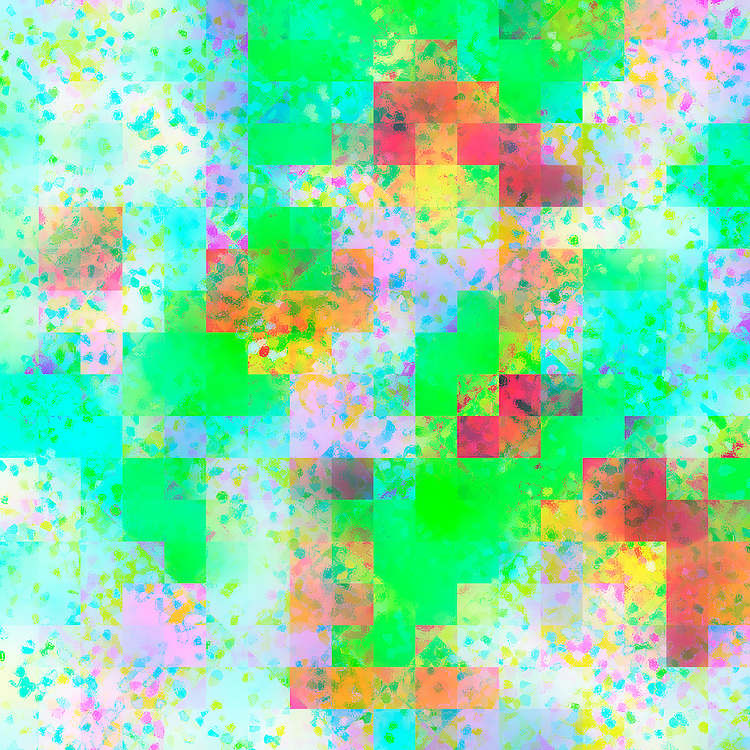 Beautiful happy abstract background with pastel and bright shades of blue, yellow, purple, red, pink, white, green, and turquoise grid and speckled design for spring, Easter, summer, and scrapbooking designs or any time of year