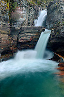 Saint Mary Falls, Glacier National Park Montana USA