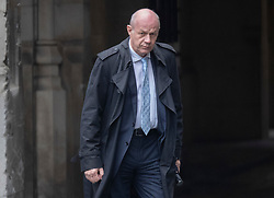 CAPTION CORRECTION © Licensed to London News Pictures. 21/10/2019. London, UK. Conservative MP Damian Green walks at Parliament. Prime Minister Boris Johnson will attempt to secure a vote on his new EU withdrawal agreement this week. Photo credit: Peter Macdiarmid/LNP