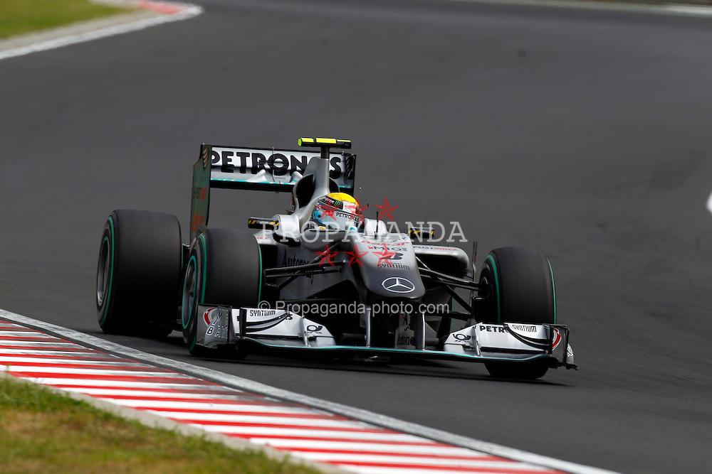 Motorsports / Formula 1: World Championship 2010, GP of Hungary, 04 Nico Rosberg (GER, Mercedes GP Petronas),