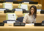 New York: Amal Clooney International human rights lawyer, 16 September 2016