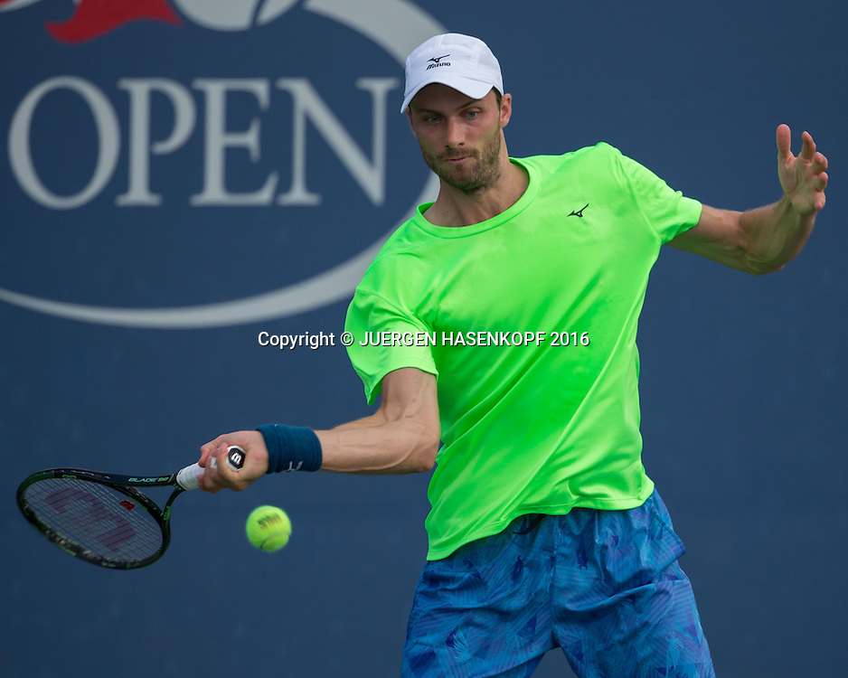 DANIEL BRANDS (GER)<br /> <br /> Tennis - US Open 2016 - Grand Slam ITF / ATP / WTA -  USTA Billie Jean King National Tennis Center - New York - New York - USA  - 30 August 2016.