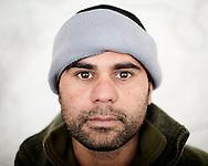 Afgahnistan - 29 dicembre 2012. Mohammad, 29 anni, interprete..Ph. Roberto Salomone Ag. Controluce.Afghanistan - Mohammad, 29, interpreter.
