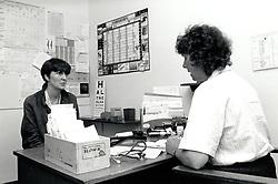 Doctors surgery Mary Potter Health Centre, Nottingham UK 1990