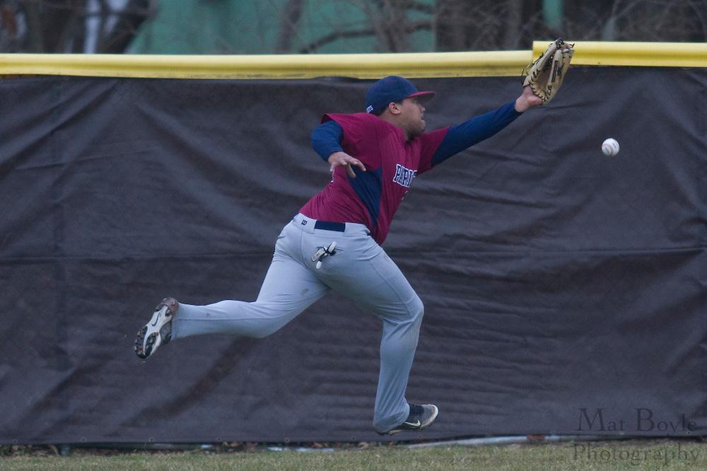 Rowan University baseball vs Valley Forge Christian College at Rowan University in Glassboro, NJ on Friday March 2, 2012.