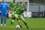 Forest Green Rovers Carl Winchester(7) during the The FA Cup match between Forest Green Rovers and Billericay Town at the New Lawn, Forest Green, United Kingdom on 9 November 2019.
