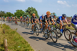 Peloton with Madison Genesis during the Arnhem - Veenendaal Classic at Posbank, Rheden, Gelderland, The Netherlands, 21 August 2015.<br /> Photo: Thomas van Bracht / PelotonPhotos.com