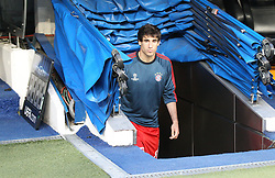 23.04.2014, Estadio Santiago Bernabeu, Madrid, ESP, UEFA CL, Real Madrid vs FC Bayern Muenchen, Halbfinale, Hinspiel, im Bild Javi MARTINEZ #8 (FC Bayern Muenchen) kommt aus dem Tunnel // during the UEFA Champions League Round of 4, 1st Leg Match between Real Madrid vs FC Bayern Munich at the Estadio Santiago Bernabeu in Madrid, Spain on 2014/04/23. EXPA Pictures &copy; 2014, PhotoCredit: EXPA/ Eibner-Pressefoto/ Kolbert<br /> <br /> *****ATTENTION - OUT of GER*****