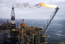 File photo dated 16/03/07 of an oil rig in the North Sea as the UK's oil and gas industry is eyeing a growth rebound despite concerns over rising costs and the impact of Brexit uncertainty, new research has found.