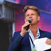 Presenter of the Kew The Music Festival 2018 on 10th July 2018.