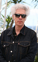 Director Jim Jarmusch at the film Only Lovers Left Alive Photocall Cannes Film Festival On Saturday 26th May May 2013