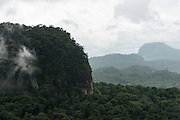 Tepuis (Flat-topped mountains)<br /> Pakaraima Mountains<br /> Potaro-Siparuni Region<br /> Brazil Guyana border<br /> GUYANA<br /> South America