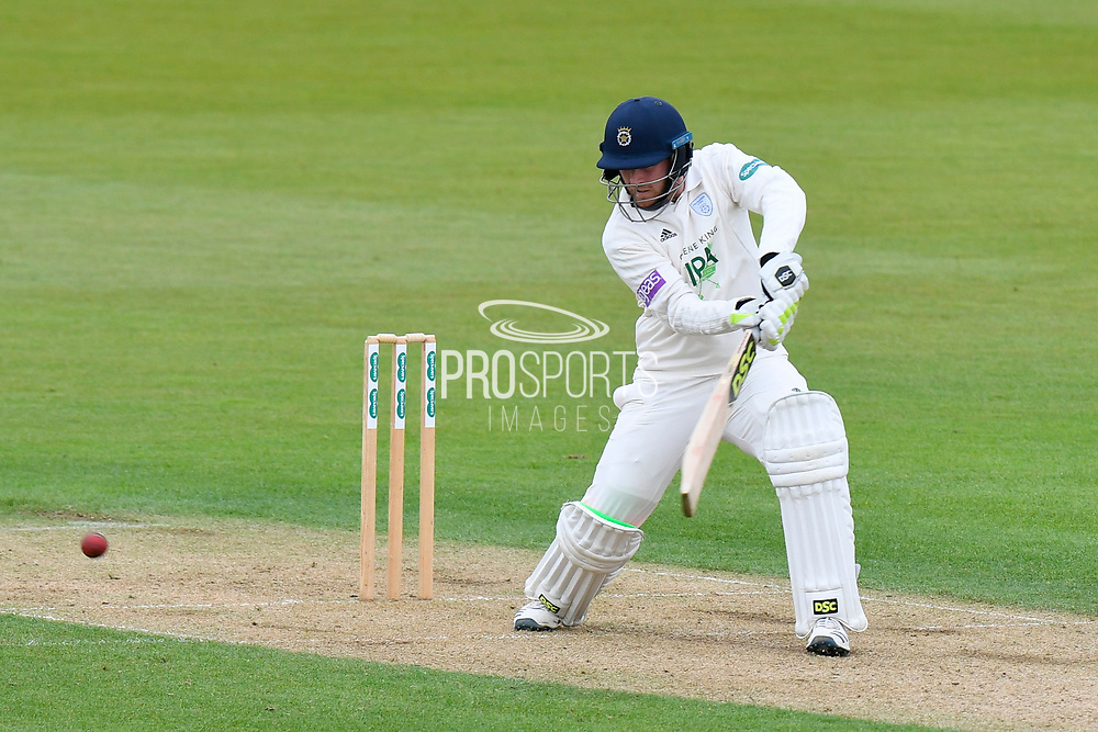 Liam Dawson of Hampshire batting during the first day of the Specsavers County Champ Div 1 match between Hampshire County Cricket Club and Essex County Cricket Club at the Ageas Bowl, Southampton, United Kingdom on 5 April 2019.