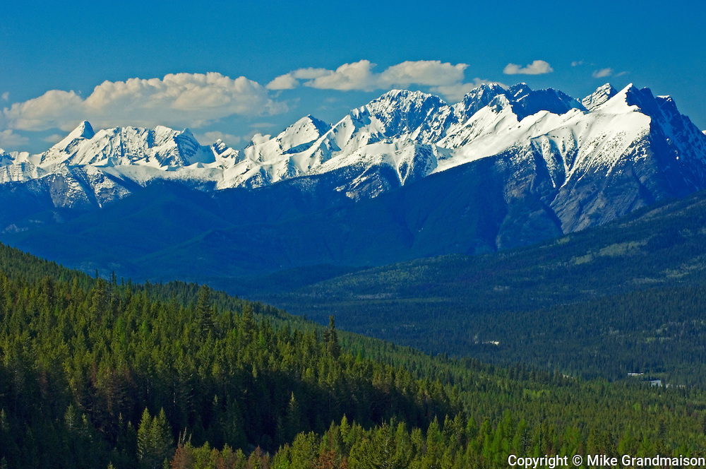 Canadian Rocky Mountains<br /> Kootenay National Park<br /> British Columbia<br /> Canada