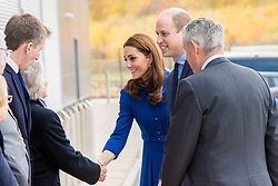 Prince William and Catherine Duchess of Cambridge (Kate Middleton) at the official opening of the new Composites Technology Center at McLaren Automotive in Rotherham, South Yorkshire. UK. 14 Nov 2018 Pictured: Prince William and Catherine, Duke and Duchess of Cambridge, Kate Middleton. Photo credit: MEGA TheMegaAgency.com +1 888 505 6342
