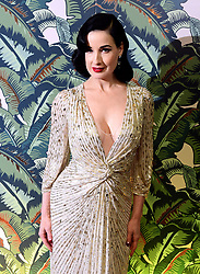 Dita Von Teese attending the Dita Von Teese and The Copper Coupe event presented by Absolut Elyx at the Box, London.
