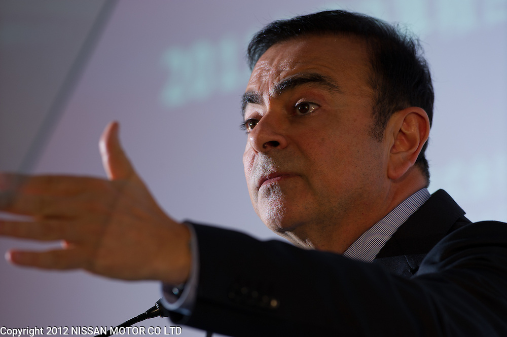 CEO Carlos Ghosn delivers FY11 results.