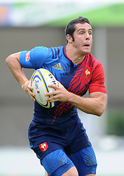 Manoel Dall Igna of France - Photo mandatory by-line: Dougie Allward/JMP - Mobile: 07966 386802 - 11/07/2015 - SPORT - Rugby - Exeter - Sandy Park - European Grand Prix 7s