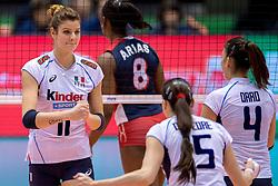 17-05-2016 JAP: OKT Dominicaanse Republiek - Italie, Tokio<br /> Italië verslaat Dominicaanse Republiek  met 3-0 / Cristina Chirichella #11 of Italie