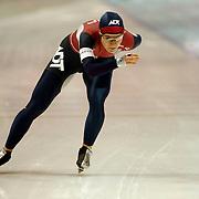 NLD/Heerenveen/20051203 - World Cup schaatsen 2005, catherine Raney