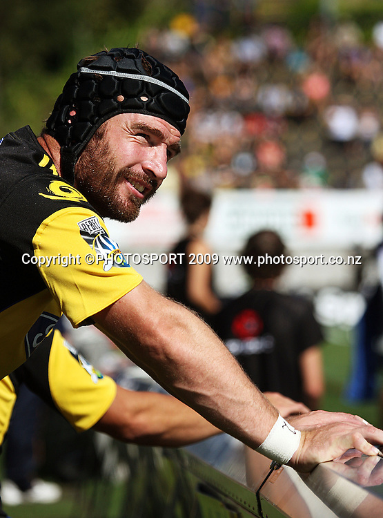 Hurricanes and All Blacks hooker Andrew Hore.<br /> Super 14 rugby union match, Hurricanes v Cheetahs at Yarrows Stadium, New Plymouth, New Zealand. Saturday 7 March 2009. Photo: Dave Lintott/PHOTOSPORT