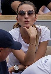 May 30, 2018 - Paris, Ile-de-France, France - Jelena Djokovic watching her husband match during the second round at Roland Garros Grand Slam Tournament - Day 4 on May 30, 2018 in Paris, France. (Credit Image: © Robert Szaniszlo/NurPhoto via ZUMA Press)