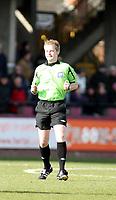 Photo: Mark Stephenson/Richard Lane Photography. <br /> Hereford United v Bury. Coca-Cola League Two. 21/03/2008. Referee Mr G Ward