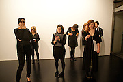 'Engagement' exhibition of work by Jennifer Rubell. Stephen Friedman Gallery. London. 7 February 2011. -DO NOT ARCHIVE-© Copyright Photograph by Dafydd Jones. 248 Clapham Rd. London SW9 0PZ. Tel 0207 820 0771. www.dafjones.com.