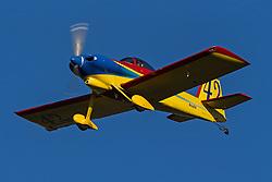 Van's Aircraft RV-3A (N66GB) lands at Palo Alto Airport (KPAO), Palo Alto, California, United States of America