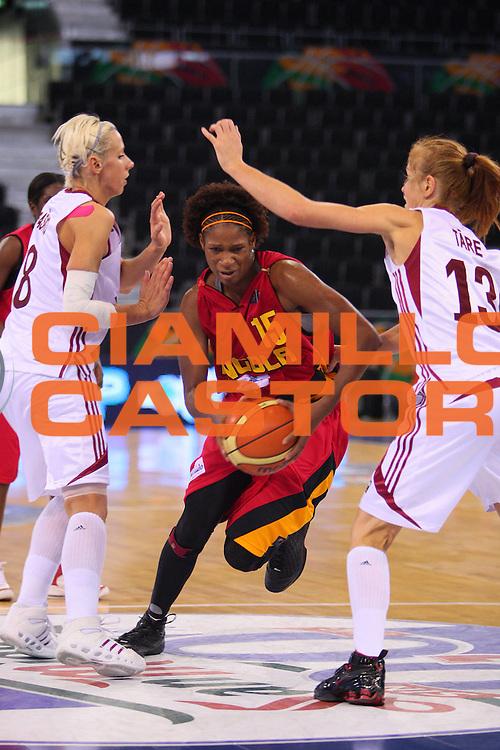 DESCRIZIONE : Madrid 2008 Fiba Olympic Qualifying Tournament For Women Quater Finals Latvia Angola <br /> GIOCATORE : Nassecela Mauricio <br /> SQUADRA : Angola <br /> EVENTO : 2008 Fiba Olympic Qualifying Tournament For Women <br /> GARA : Latvia Angola Lettonia Angola <br /> DATA : 13/06/2008 <br /> CATEGORIA : Penetrazione <br /> SPORT : Pallacanestro <br /> AUTORE : Agenzia Ciamillo-Castoria/S.Silvestri <br /> Galleria : 2008 Fiba Olympic Qualifying Tournament For Women <br /> Fotonotizia : Madrid 2008 Fiba Olympic Qualifying Tournament For Women Quater Finals Latvia Angola <br /> Predefinita :