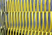 D&uuml;ren. 15.03.17 | BILD- ID 022 |<br /> GKD - Gebr. Kufferath AG. Metallfassade f&uuml;r die Neue Mannheimer Kunsthalle.<br /> Das Unternehmen in D&uuml;ren produziert Fassaden f&uuml;r die Architektur aus Metall. Ein gewebtes Metallgitter wird von Aussen an die Fassade montiert. <br /> Kunsthallendirektorin Dr. Ulrike Lorenz besucht das Unternehmen in D&uuml;ren und freut sich &uuml;ber die technische Umsetzung mit einer speziell goldenen Pigmentierung der Edelstahlstreben.<br /> Bild: Markus Prosswitz 15MAR17 / masterpress (Bild ist honorarpflichtig - No Model Release!)