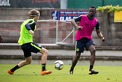22.06.2015, Sportplatz, Fuegen, AUT, Trainingslager, BSC Young Boys, im Bild Sékou Sanogo (Young Boys Bern) // during the trainingscamp of Swiss Superleague club BSC Young Boys at the Sportplatz in Fuegen, Austria on 2015/06/22. EXPA Pictures © 2017, PhotoCredit: EXPA/ Jakob Gruber