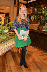 WILLOW CROSSLEY at a party to celebrate the publication of 'Inspire: The Art of Living With Nature' by Willow Crossley held at Anthropologie, 131-141 Kings Road, London on 13th March 2014.