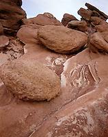 AA00863-04...COLORADO...Rocks at the Garden of the Gods, a Colorado Springs City Park.